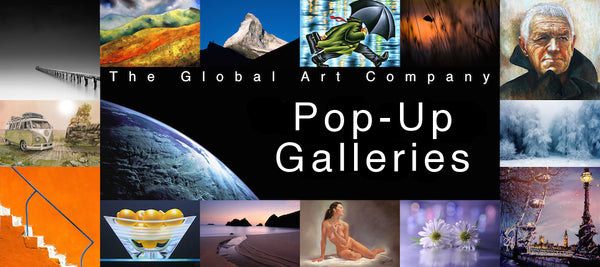 Pop Up Galleries on The Global Art Company