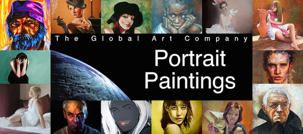 Portrait paintings gallery on The Global Art Company