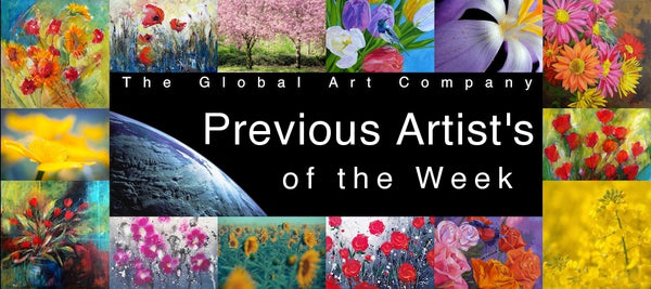 Previous artists of the weeks gallery on The Global Art Company