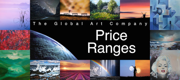 The Global Art Company Prices search page