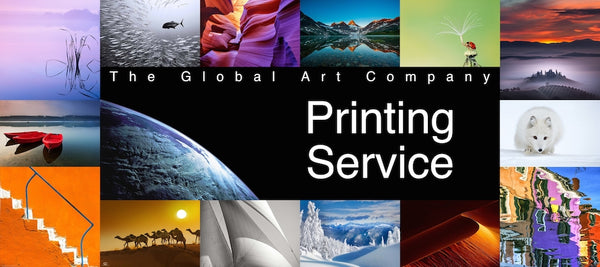 Information on our Printing Service on The Global Art Company
