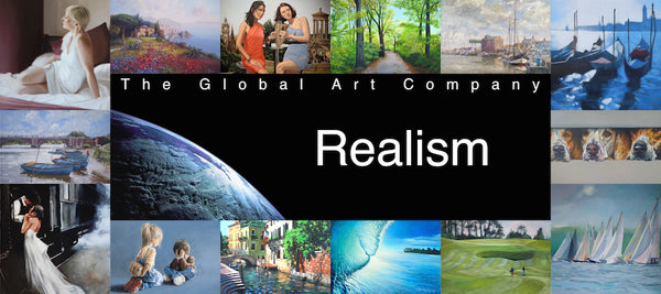 The Realist paintings gallery on The Global Art Company