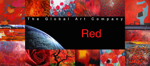 The Red art collection on The Global Art Company