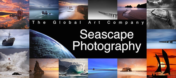 Seascape photography collection on The Global Art Company