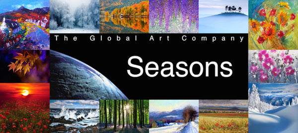 The Seasons Art and Photography - The Global Art Company