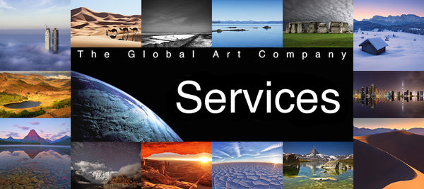 Services on The Global Art Company