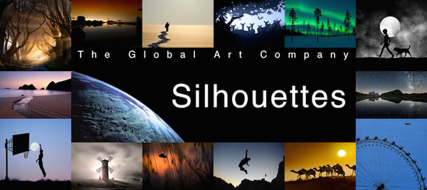 The Global Art Company Silhouettes collection