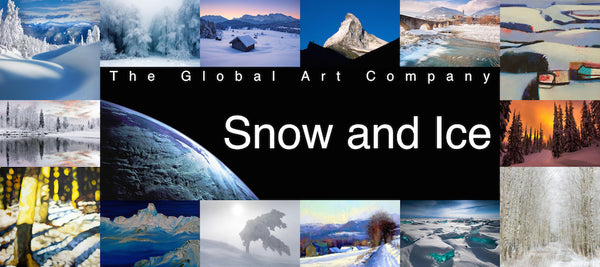 The Snow and Ice gallery on The Global Art Company