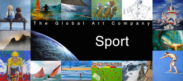 The Sport art gallery on The Global Art Company