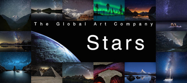 The Stars art gallery on The Global Art Company