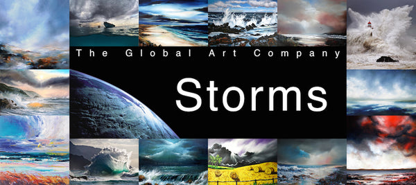 The Storms art gallery on The Global Art Company