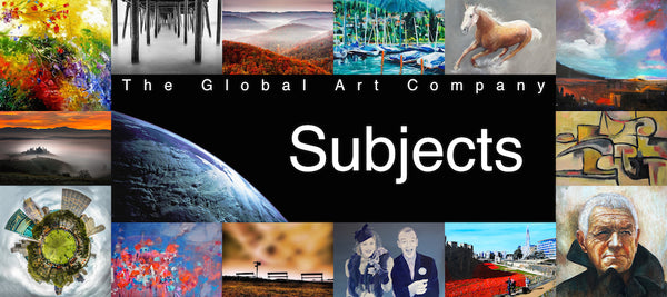 The Global Art Company subjects search page