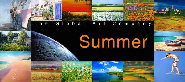 The Summer art collection on The Global Art Company