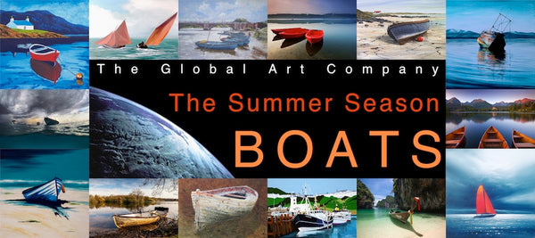 The Boats art gallery on The Global Art Company