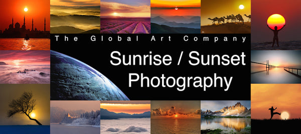 The Sunrise and sunset Photography collection - The Global Art Company