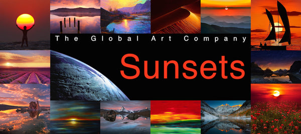 Sunset Art and Photography - The Global Art Company