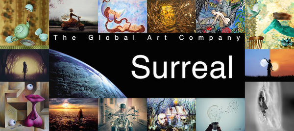 The Surrealism art gallery on The Global Art Company