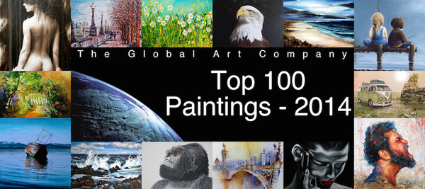 The Top 100 paintings Gallery on The Global Art Company