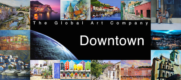 The Downtown art gallery on The Global Art Company