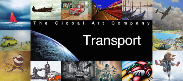 The Transport art gallery on The Global Art Company