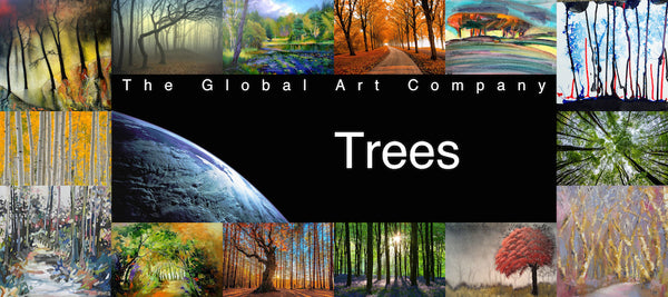 The trees art gallery on The Global Art Company
