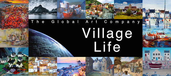 The Village Life art gallery on The Global Art Company