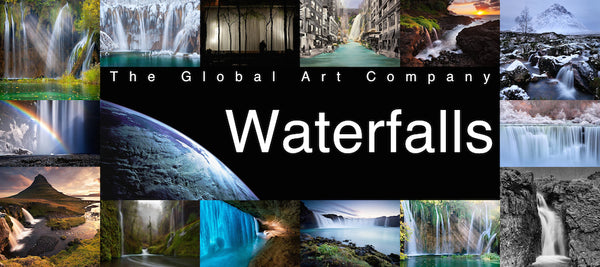 Waterfall Art and Photography - The Global Art Company