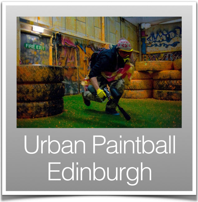 Urban Paintballing Edinburgh