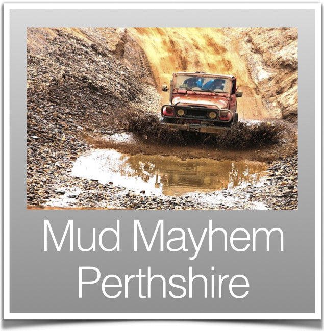 Mud mayhem Perthshire