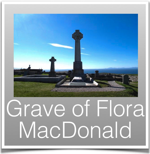 Grave of Flora Macd