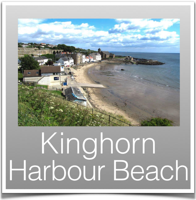 Kinghorn Harbour Beach