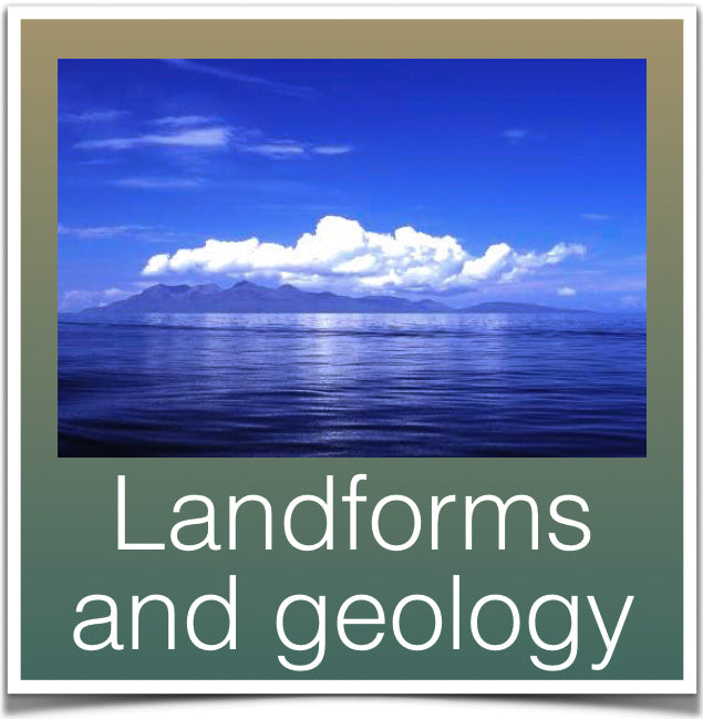 Landforms and geology
