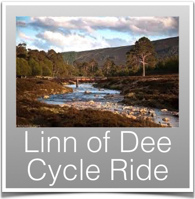 Linn of Dee Cycle ride
