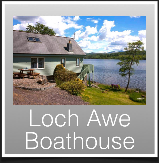 loch Awe Boathouse
