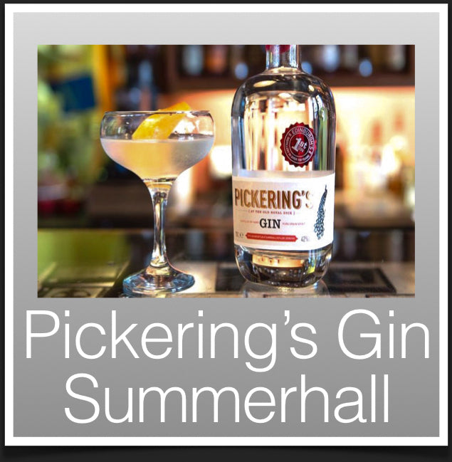 Pickerings Gin Summerhall