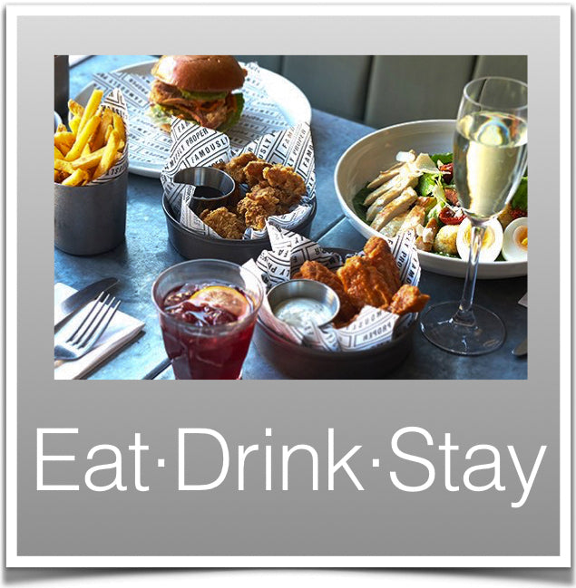 Eat, Drink, Stay