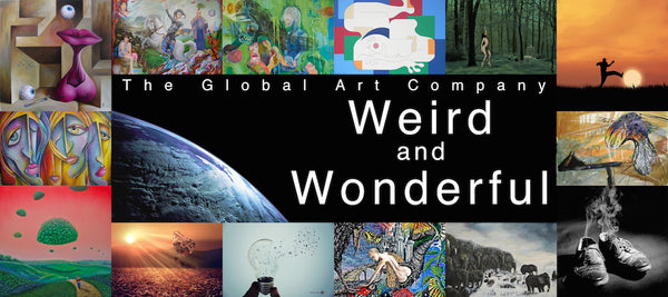 The Weird and Wonderful art gallery on The Global Art Company