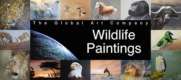 The Wildlife art gallery on The Global Art Company