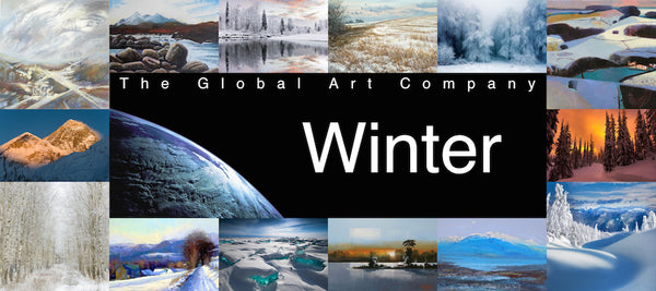 The winter art gallery on The Global Art Company