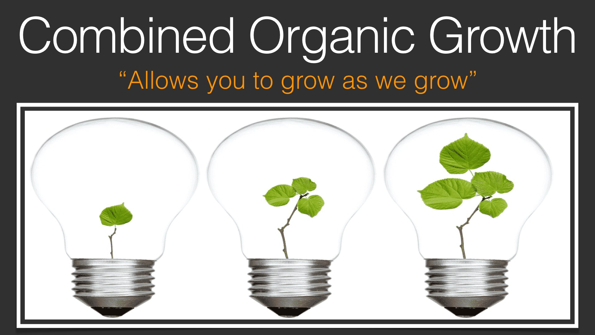 Combined organic Growth