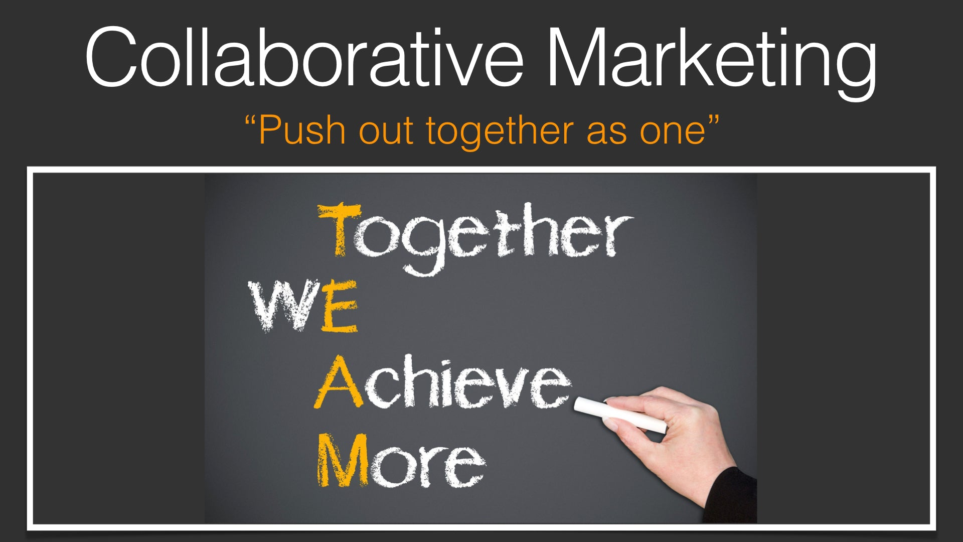 Collaborative Marketing