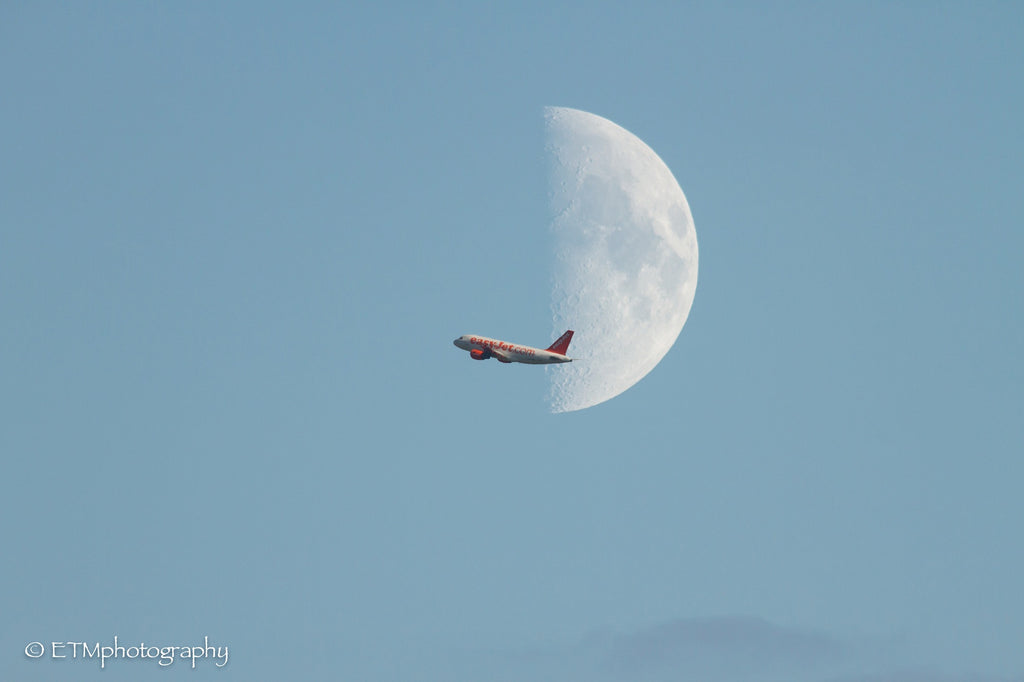 Easyjet and The Moon