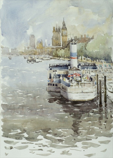 Dining On The Thames, W.COL
