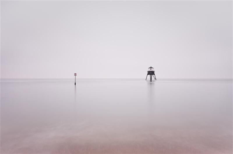Dovercourt Lighthouse, Mist