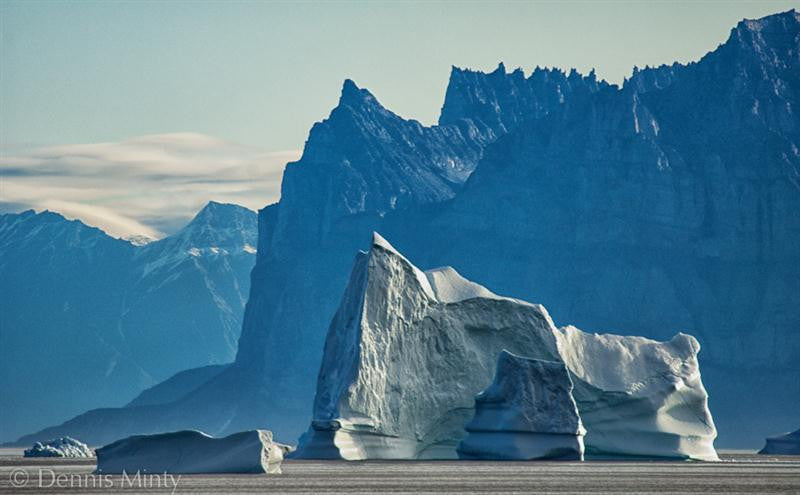 Iceberg and Mountain, West Greenland