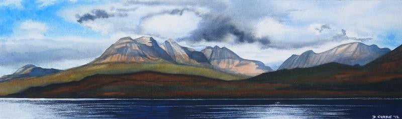 Torridon from Loch Damph
