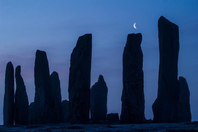 Callanish and the Moon