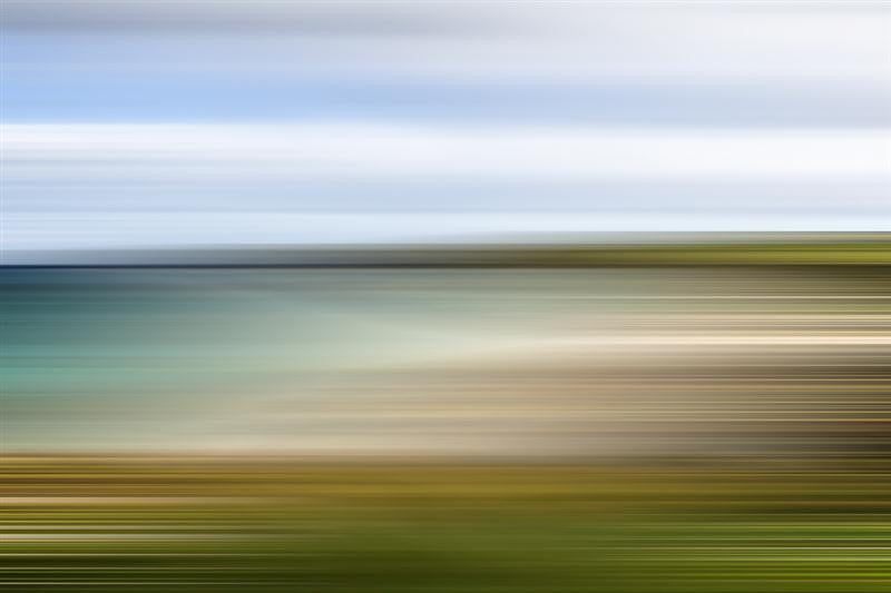 Hebridean Beach Abstract