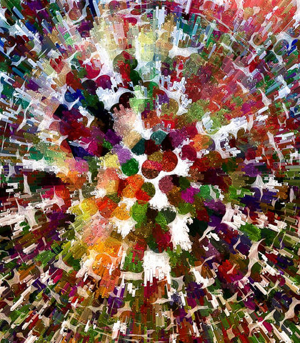 Multicolour Abstract