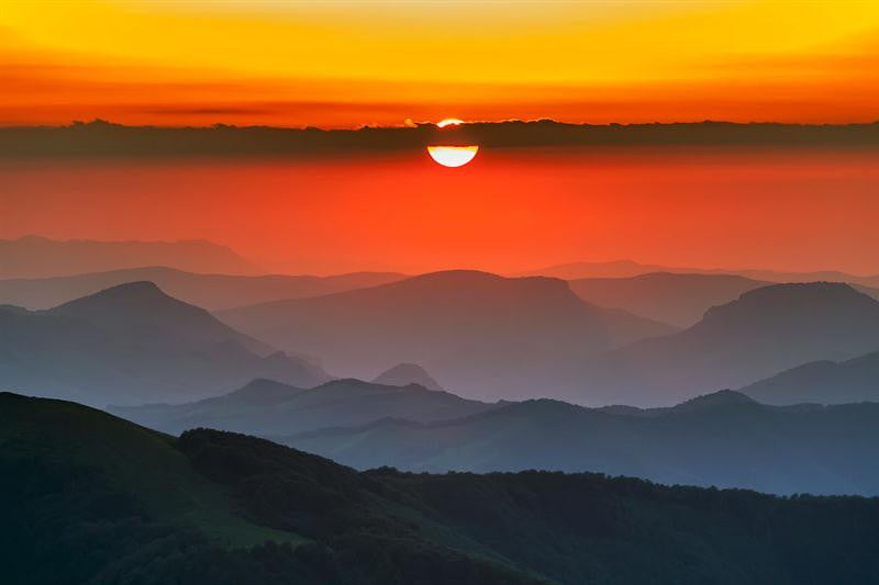 Sunset In Balkans